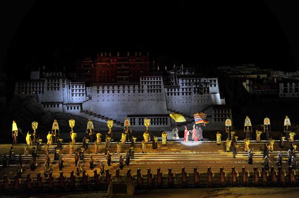 《文成公主》为数千人提供岗位 助力西藏经济发展