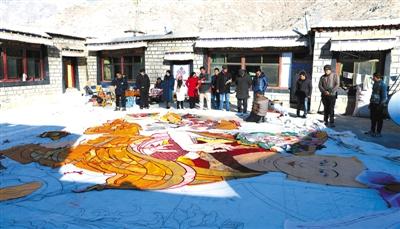 夺底沟:西藏拉萨郊外的静谧时光
