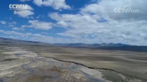 种草两年 青藏高原部分沙化区修复