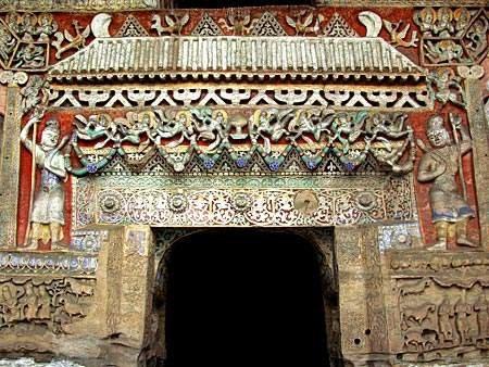凉州石窟模式对云冈石窟造像的影响
