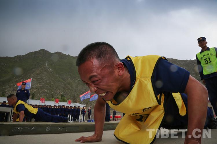 西藏森林消防总队组织竞赛:新消防员打破11项纪录,创造1项纪录