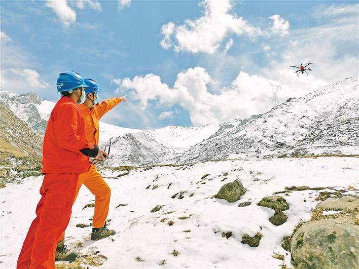 国网西藏电力:坚守岗位保供电