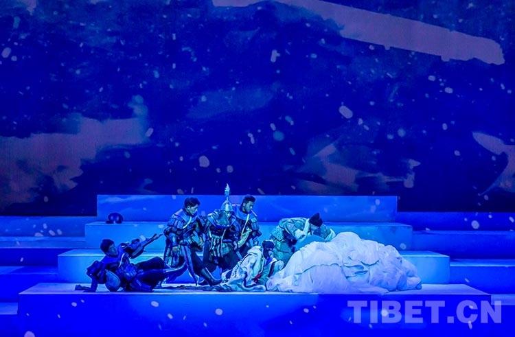 《金城公主》舞台剧带妆彩排 即将正式公演