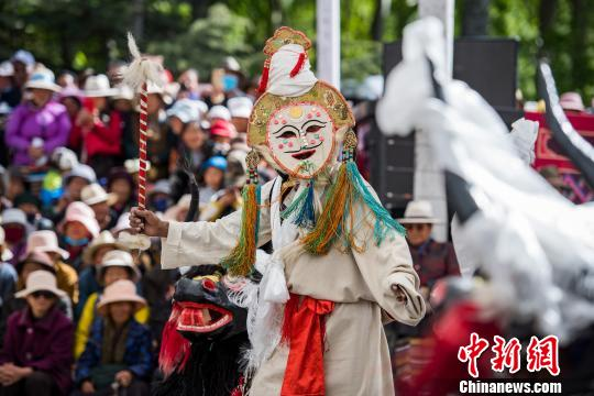 庆民主改革60年西藏打造新编现实题材藏戏舞台剧《高原春雷》