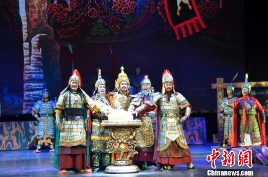 传统藏戏《意卓拉姆》青海开排