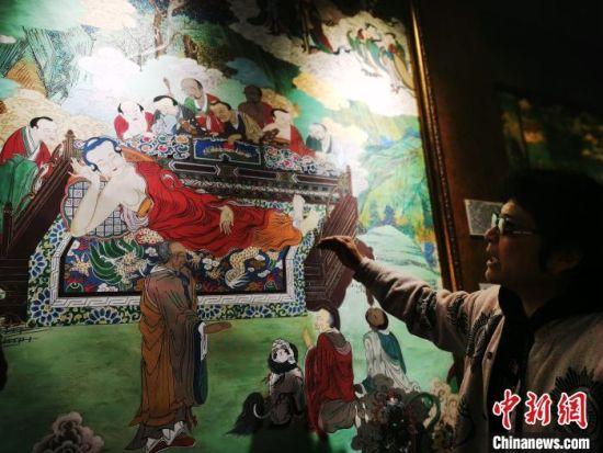 《小故宫》青海曲潭寺当地明清壁画复制保存