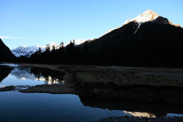巴松措是目前为止林芝市唯一的5a级旅游景区,也是西藏唯一的自然类5a