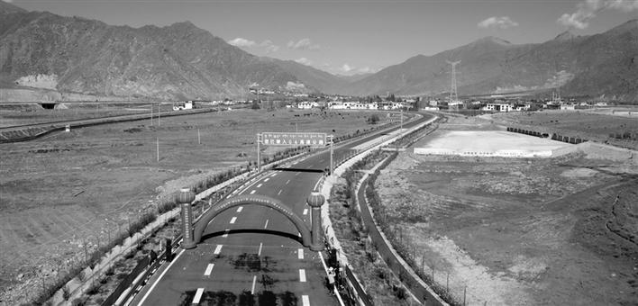 """""""十三五""""期间 西藏公路建设里程将达到11.58万公里"""