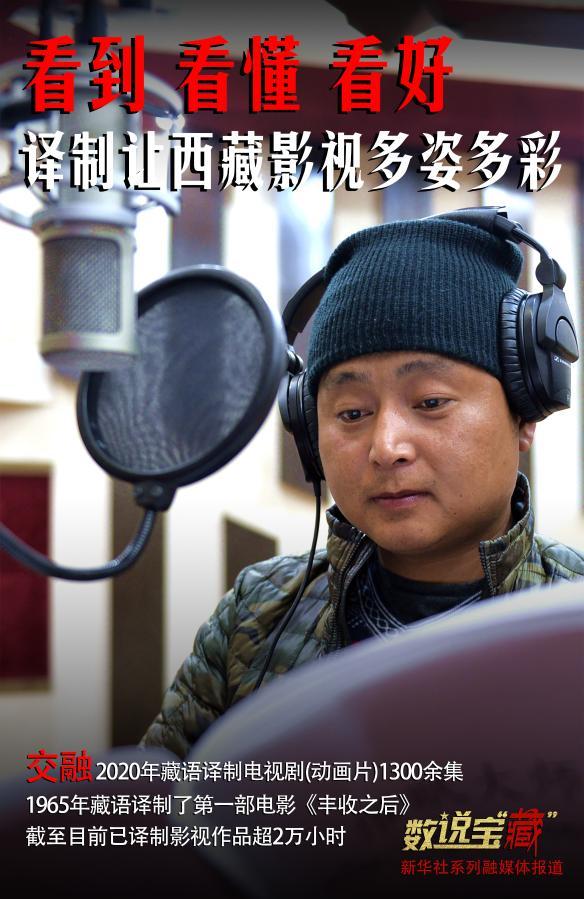 """数宝 """"藏""""与交融!2020年西藏影视作品藏文翻译超过1000小时"""