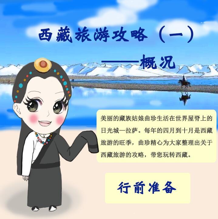 手绘丨西藏旅游攻略(一)攻略二轮概况高三图片