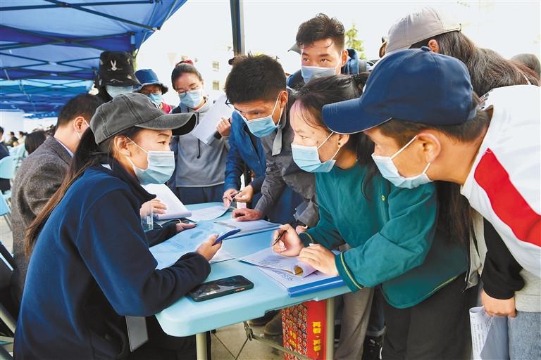 """""""职""""为你来 西藏自治区高校毕业生专场招聘会举办"""