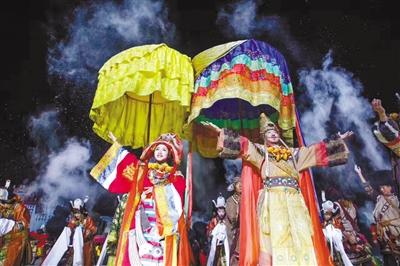 藏文化经典史诗巨作《文成公主》 精良设计铸就艺术精品