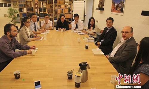 中国藏学家交流团到访荷兰