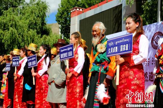 西藏琼结多项非遗集体亮相呈优秀传统文化盛宴