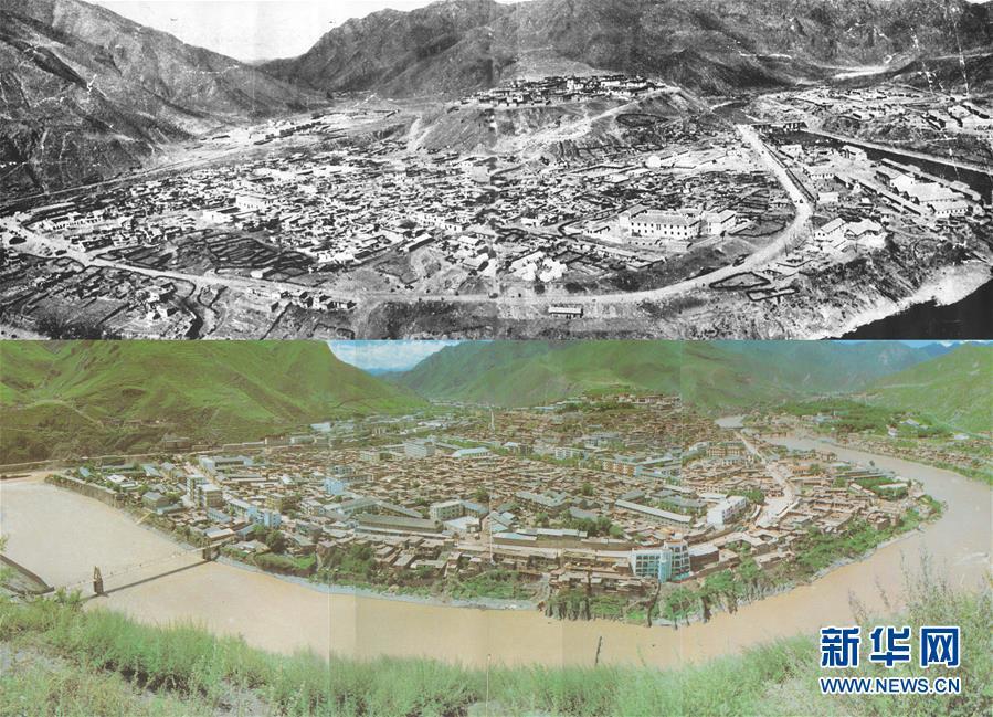 (西藏昌都解放70周年)(1)巨变的西藏昌都