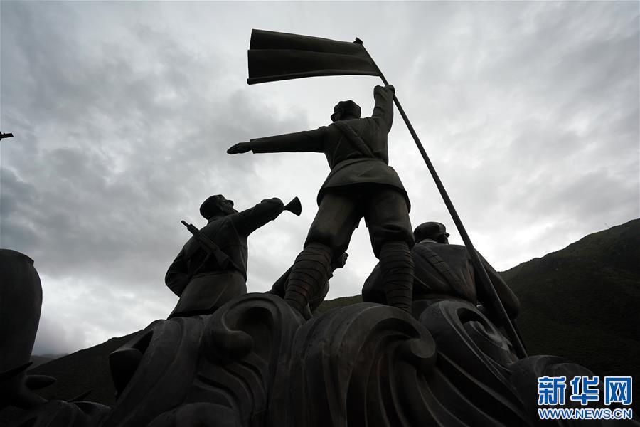 (西藏昌都解放70周年·图文互动)(3)西藏第一面五星红旗曾在这里升起
