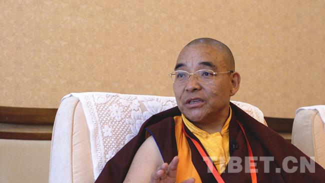 藏传佛教发展要不忘本来、吸收外来、面向未来