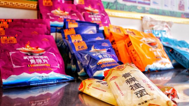 【新时代·幸福美丽新边疆】麦片、挂面、烘焙:西藏青稞新吃法 还能助力脱贫