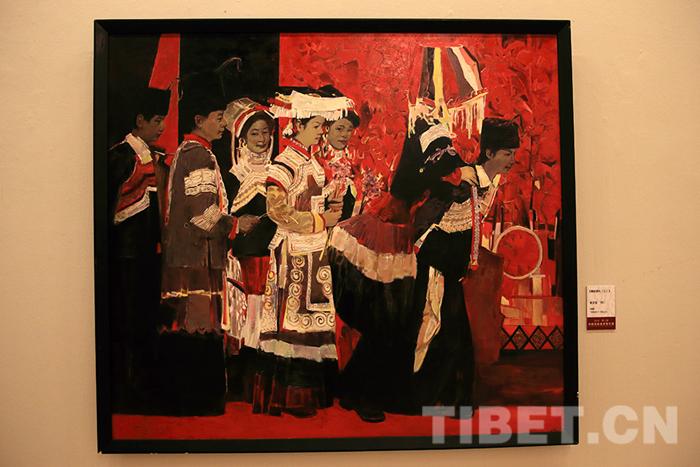第三届中国民族美术双年展在京开展