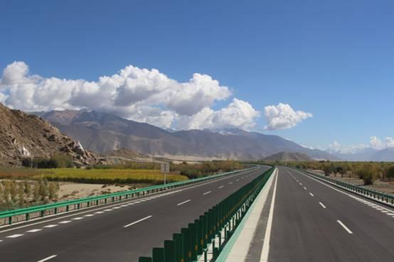 西藏网交通生长,黎民的得到感提拔