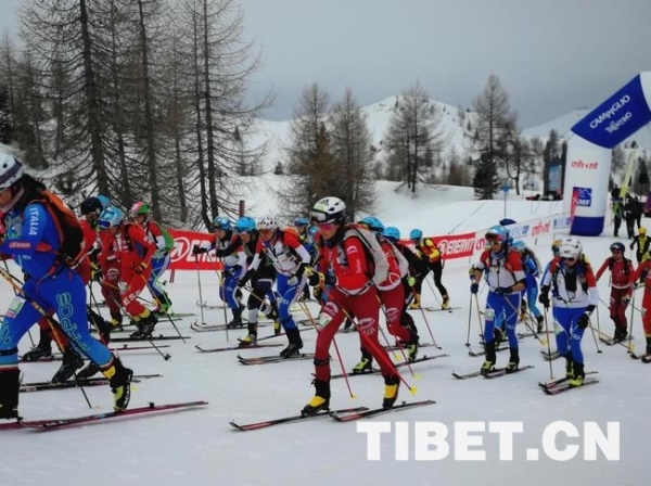 冠军!2019滑雪登山世界杯(中国松花湖站)西藏运动员获得佳绩