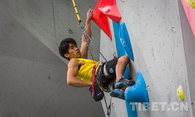 """高手过招!2019""""一带一路""""中国拉萨国际攀岩大师赛难度赛冠军出炉"""