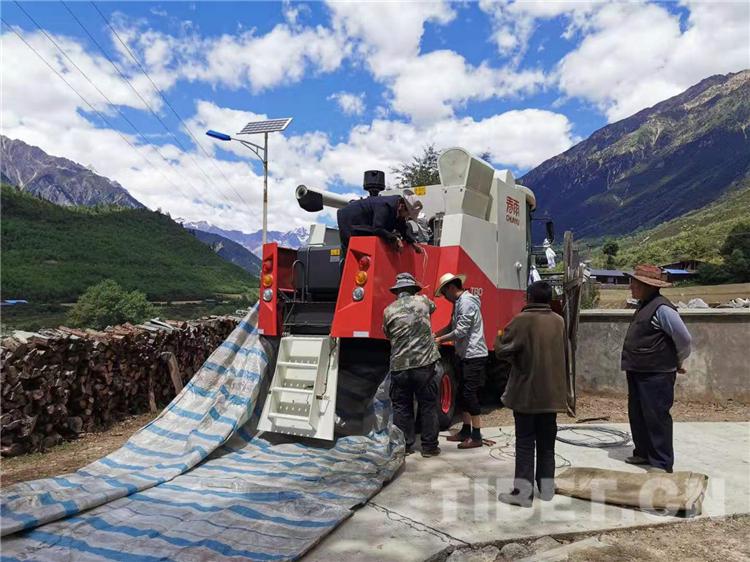 原创  西藏自治区林芝市察隅县古玉乡巴依村距县城94公里,属于高山