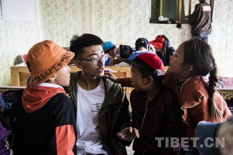 大连理工学子支教西藏手记:在白堆村最美的日子