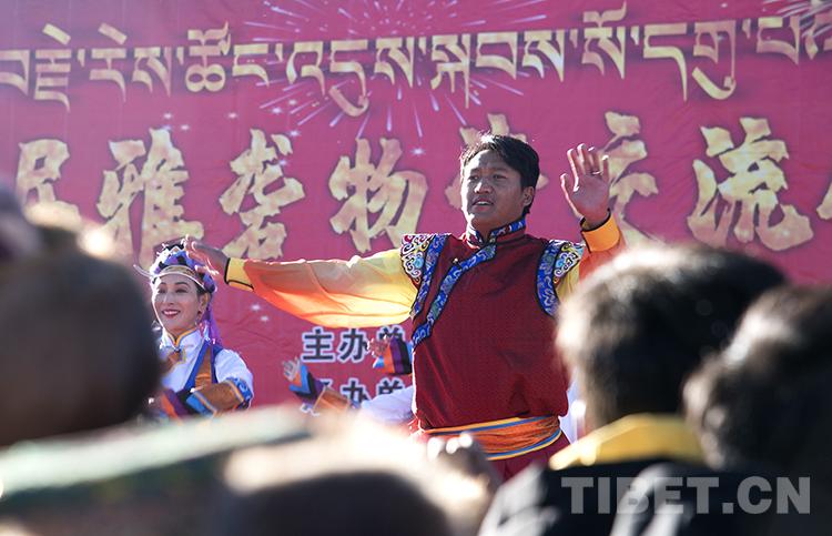 第39届雅砻物交会开幕,西藏山南人开启买买买模式
