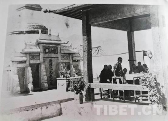 """民国时期拉萨建成的""""刘公亭碑"""",颇具历史价值"""