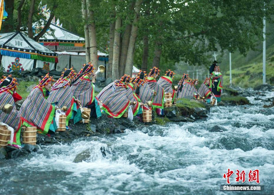 led高清藏族古代风景