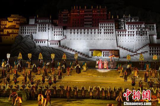 藏文化史詩劇《文成公主》助力產業、文化脫貧