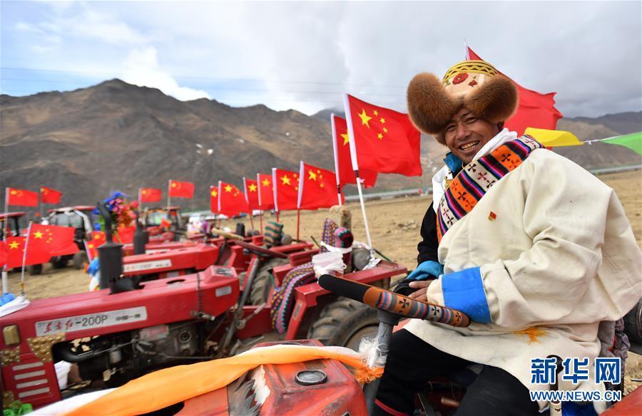 西藏:春耕第一犁