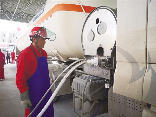 西藏拉萨天然气站每年可向市区供气超1亿立方米