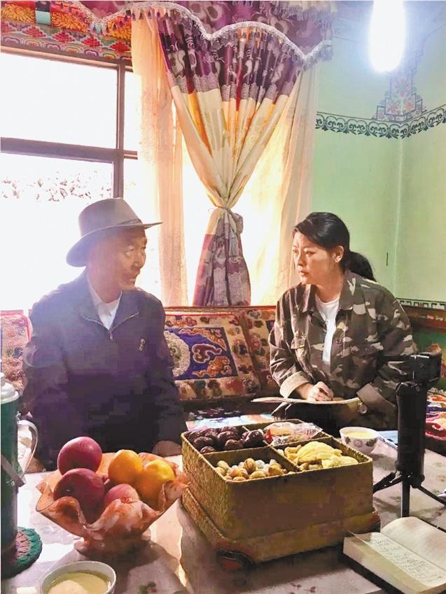 """""""老西藏""""达瓦次仁:那段骑马下乡的岁月很温暖"""