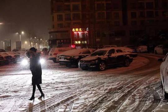2018年的第一场雪:全国这些地方下得格外猛烈