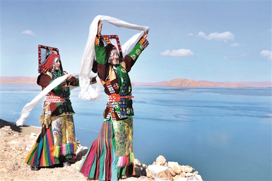 """""""畅游新西藏·守护第三极""""2018年藏西及藏北旅游环线越野体验活动抵达西藏自治区那曲市申扎县"""