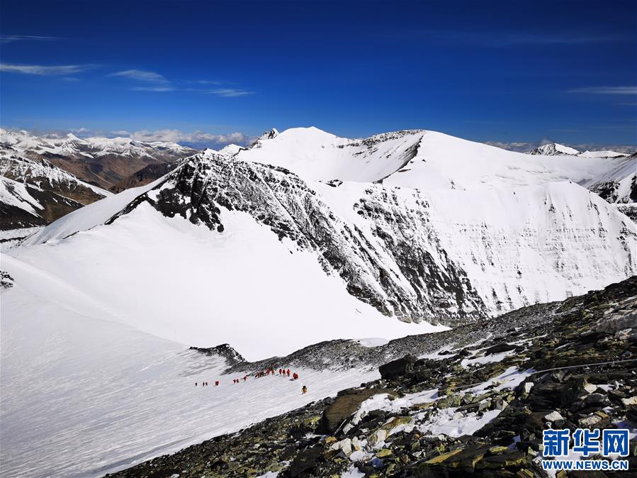 (2020珠峰高程测量)(4)海拔7000米以上的壮美景色