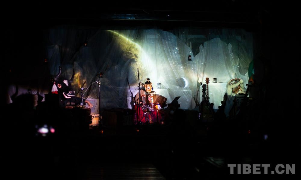 倾诉自然之声《洁心之旅》音乐剧在拉萨上演